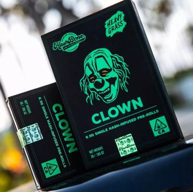 Clown de Slipknot lance sa propre marque de joints de cannabis pré-roulés