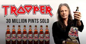 La bière Trooper de Iron Maiden fête son huitième anniversaire avec 30 millions de pintes vendues