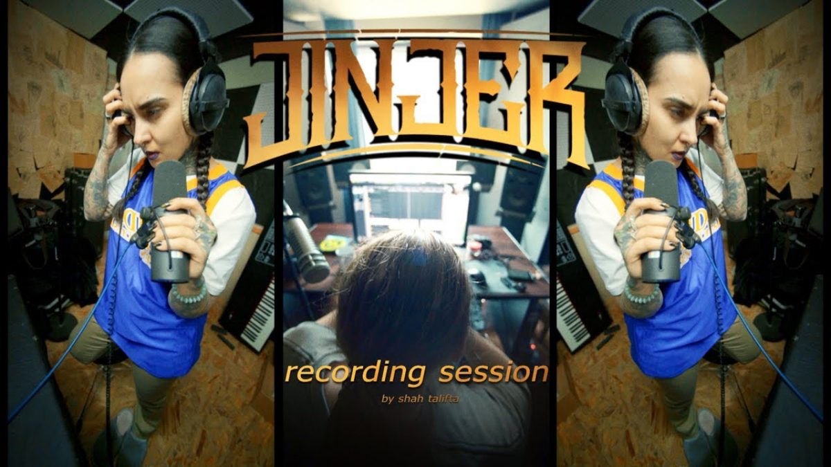 Jinjer vous gratifie d'une immersion en studio pour l'enregistrement de son prochain album !