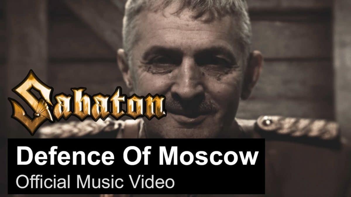 Sabaton publie le clip vidéo de son nouveau single, Defence Of Moscow