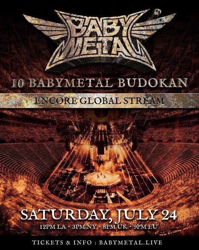 Babymetal annonce un livestream et la sortie d'un album live, 10 Babymetal Budokan !