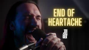 Regardez Jordan Radvansky, le chanteur de Seraphim, reprendre The End Of Heartache de Killswitch Engage !
