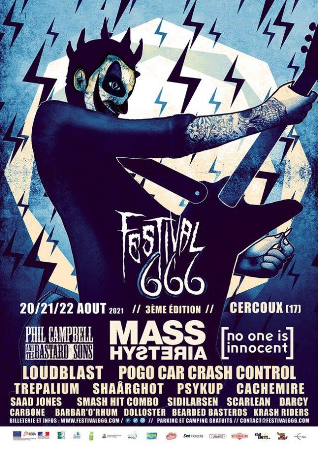 Le festival 666 annonce l'ordre de passage de son édition 2021