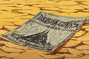 Iron Maiden : L'affiche du 'Belshazzar's Feast' est une correction de dernière minute !