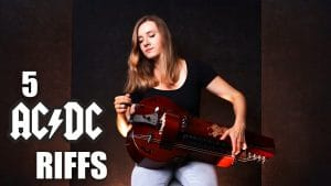 Michalina Malisz de Eluveitie joue 5 riffs iconiques de AC/DC sur sa vielle à roue