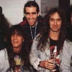 """Frank Bello, de Anthrax, à propos d'une de ses tournées avec Iron Maiden : """"Cela aurait très bien pu être la fin"""""""