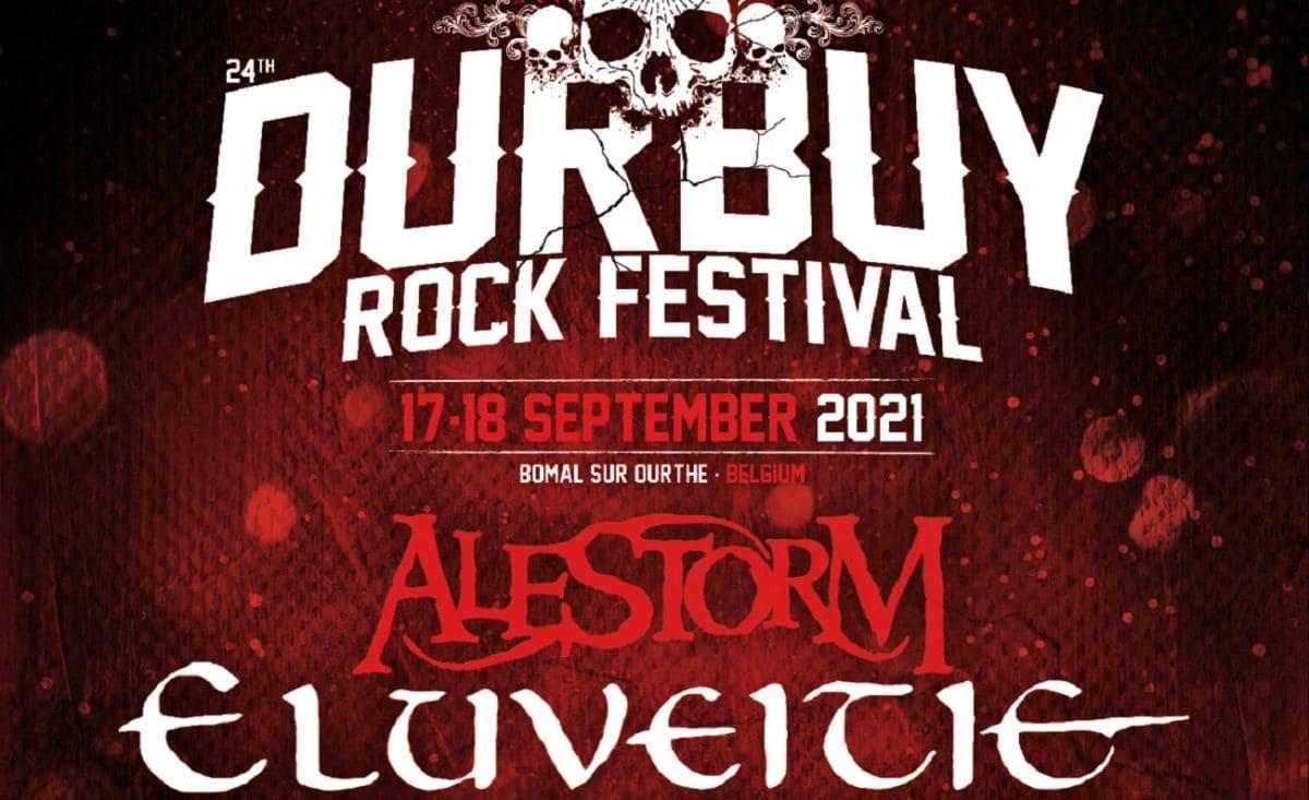 Le 24e Durbuy Rock Festival aura lieu les 17 et 18 septembre 2021 (Alestorm, Eluveitie, Tagada Jones et bien d'autres)
