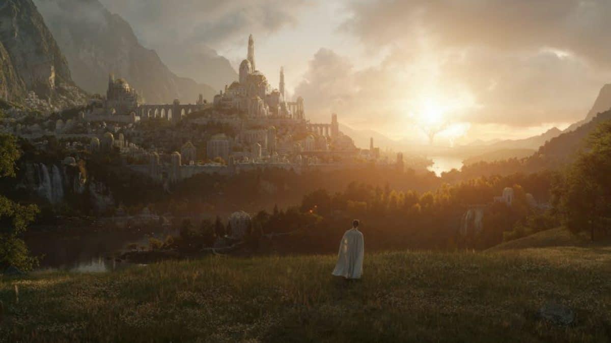 Amazon partage une première image stupéfiante et la date de lancement de la série, Le Seigneur Des Anneaux !