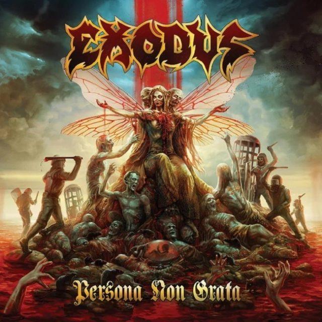 Exodus dévoile la date de sortie et les détails de son nouvel album, Persona Non Grata