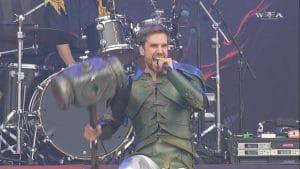 Gloryhammer annonce le départ du chanteur Thomas Winkler après 10 ans de collaboration