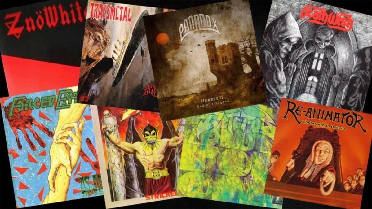 10 groupes de Thrash Metal enfouis dans les sables du temps !