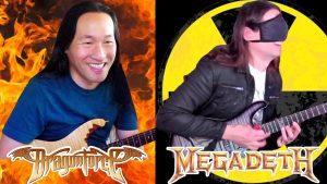 Herman Li de DragonForce défie Kiko Loureiro de jouer les yeux bandés, et le résultat est assez impressionnant