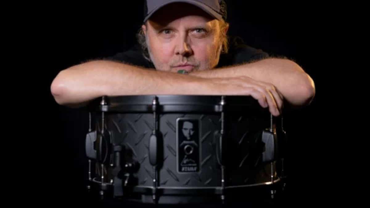 Lars Ulrich de Metallica et Tama lancent une édition limitée de la caisse claire du Black Album