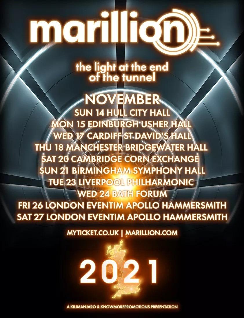 Marillion offre un billet pour tous les concerts de sa tournée !
