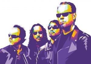 Quels groupes de Metal ont créé les marques les plus puissantes ?