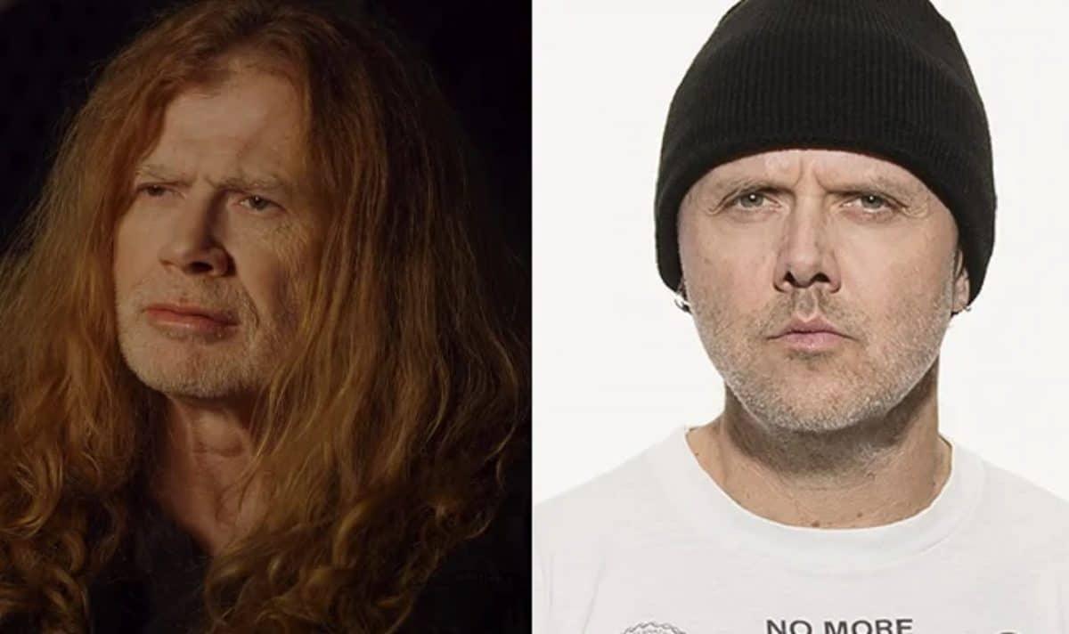 """Dave Mustaine ne comprend pas pourquoi Lars Ulrich a attaqué Napster : """"A-t-il assez d'argent ? Probablement"""""""