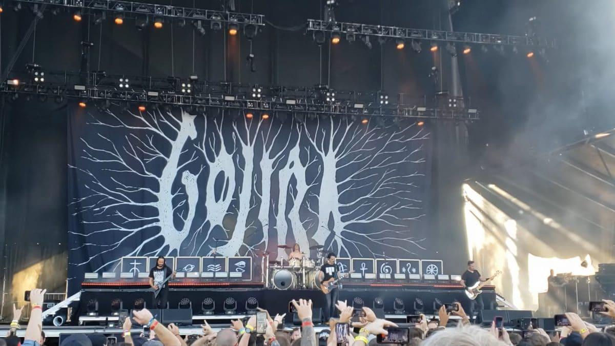 Regardez Gojira jouer Born For One thing et d'autres chansons lors de son premier concert en deux ans