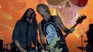 La performance de Guns N' Roses et Dave Grohl a été écourtée au BottleRock !