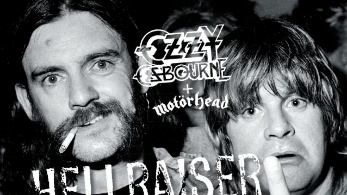 Découvrez Ozzy Osbourne et Lemmy Kilmister (Motörhead) dans une version inédite de Hellraiser !