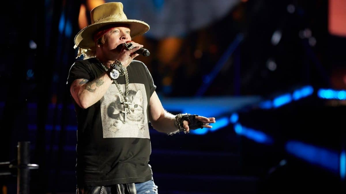 Guns N' Roses : Axl Rose remercie les fans !