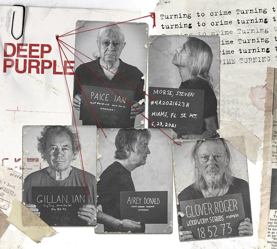 Deep Purple révèle les détails de son nouvel album, Turning To Crime, & publie le premier extrait, 7 And 7 Is !
