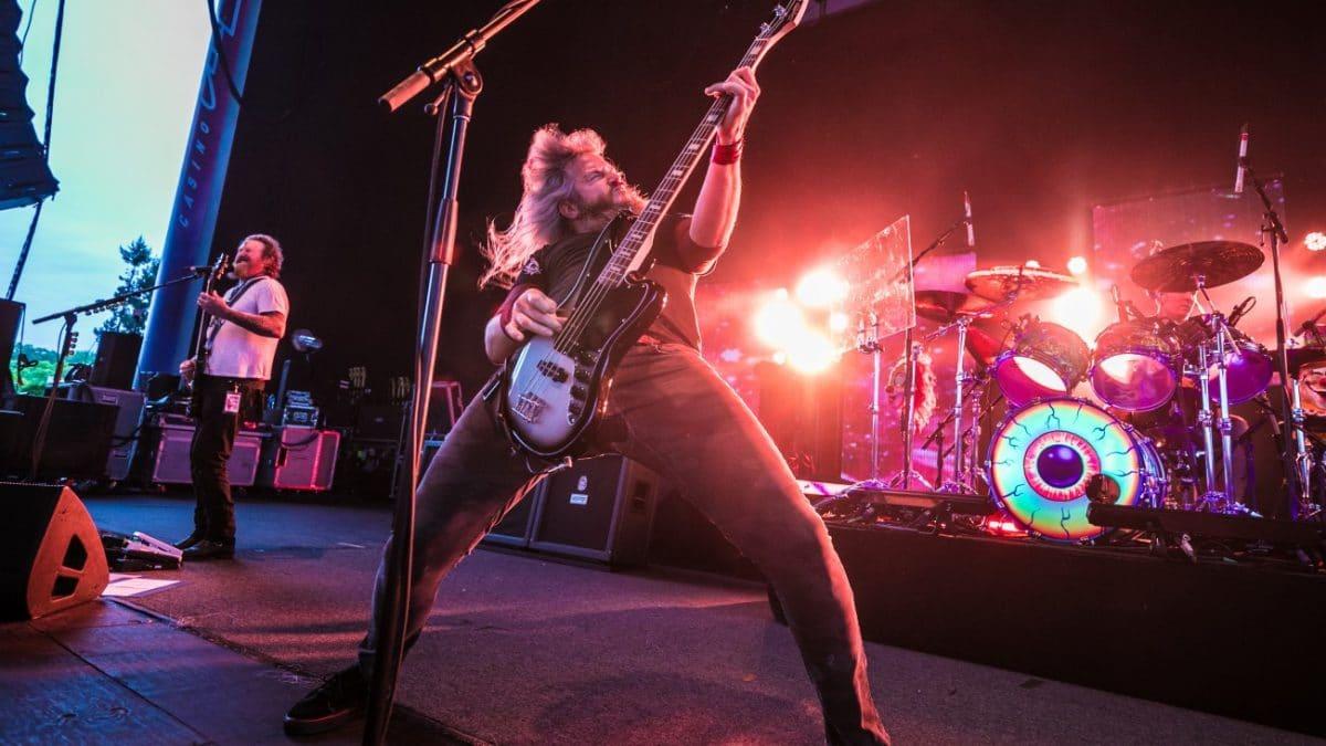 Mastodon publie le clip vidéo de son nouveau single Teardrinker