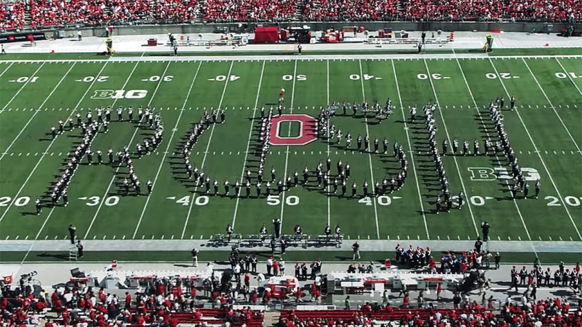 Rush : Le Ohio State University Marching Band rend hommage à Neil Peart !