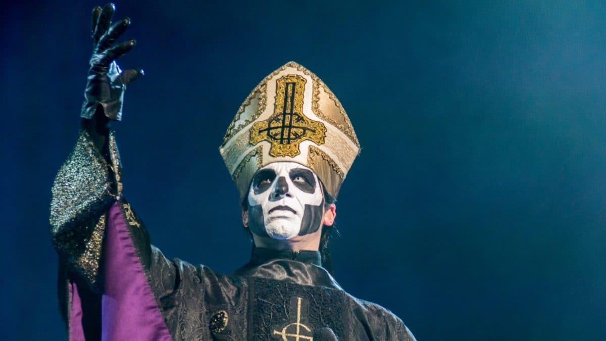 """Tobias Forge de Ghost : """"La majeure partie de cette année a été passée en studio à travailler sur un nouvel album"""""""